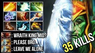 New Style Mid Wraith King 120k Damage Delete PL Ez Most Epic Gameplay Imba Build WTF Dota 2
