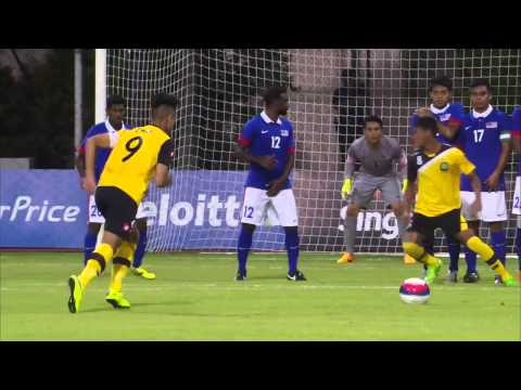 Football Brunei vs Malaysia First Half Highlights   28th SEA Games Singapore 2015 720p