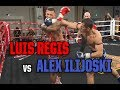 Muay Thai - Luis Regis vs Alex Ilijoski, Rebellion Muay Thai, 3.3.18.