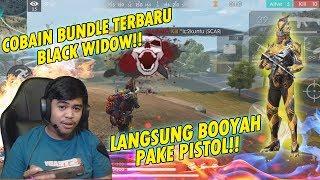 BOOYAH PAKE PISTOL PAS LAGI NYOBAIN BUNDLE TERBARU!! - FREE FIRE INDONESIA