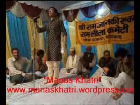 Hasya Poet Manas Khatri at Chowk Faizabad Kavi Sammelan (Holi...