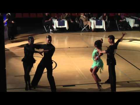 Konstantin Gorodilov - Dominika Bergmannova | SF Samba | Helsinki Open 2015