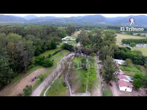 Mirá desde el aire la boda de Juan Manuel Urtubey e Isabel Macedo