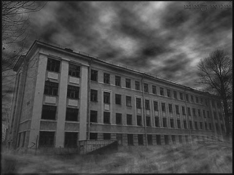 Заброшенная школа в Сургуте