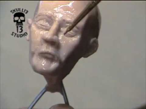 Sculpting a head by chuck ferrell