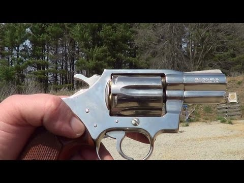 Colt Detective Special 38 Revolver Nickel