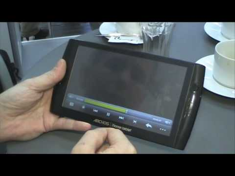 Archos 7 home tablet at CeBIT 2010