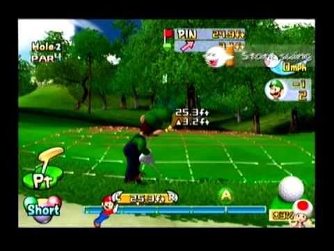 Let's Play Mario Golf: Toadstool Tour - Tournament - Lakitu Cup (Part 1 of 2)