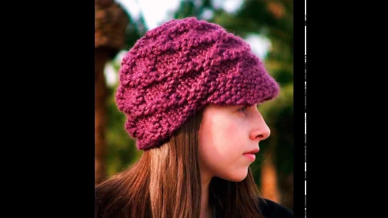 Вязание спицами модная шапка 63