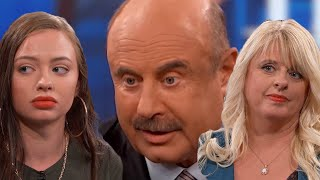 DR Phil Daughter And Mother Need The Ranch | React Couch