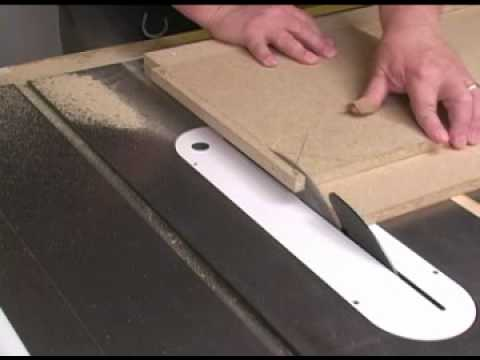 5-Cut Table Saw Sled Fence Test