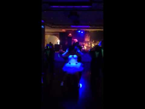 Quinceanera dresses glow in the dark knight