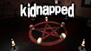 Kidnapped - Full Playthrough: Indie Horror Game w/ An Identity Crisis (Gameplay / Walkthrough)