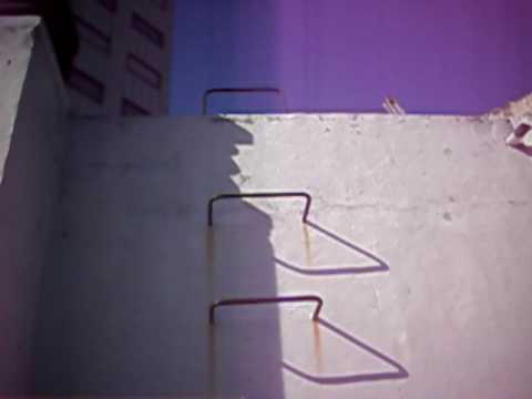 Escalera marinera en hierro para subir de terraza al - Escaleras de hierro ...