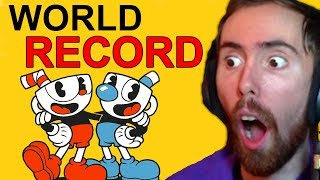 Asmongold Reacts To Cuphead WORLD RECORD Speed Run