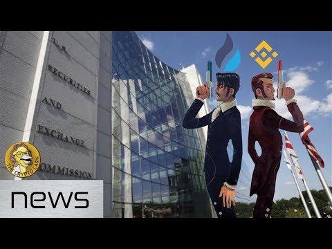 Bitcoin & Cryptocurrency News - Moon Lambo, SEC Helping ICOs, & Exchange Wars
