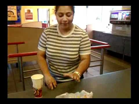 Customer complaint at burger king