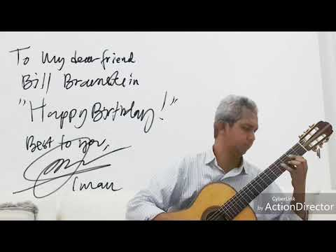 Prelude From Suite No. 2 By Leo Brouwer Performed By Iman Prabowo - Classical Guitar (HQ)
