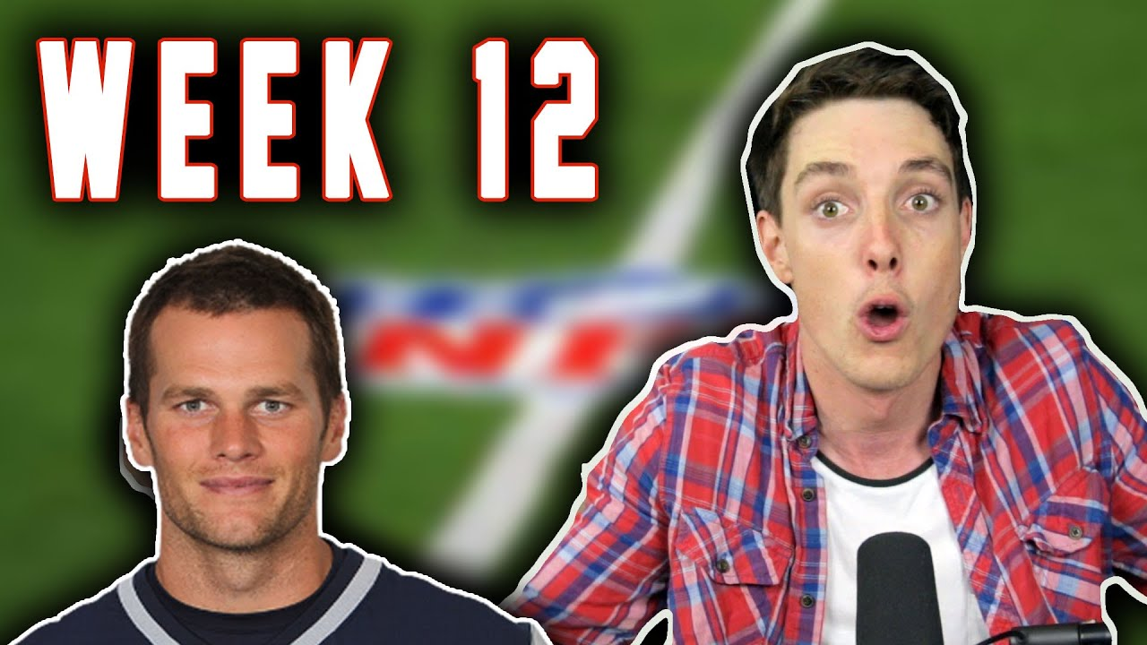 TOM BRADY'S GOING TO DIE?!?! - LazarBeam Predicts NFL Week 12! ( NFL News and Predictions)