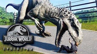 Jurassic World Evolution Gameplay German #25 - Mutanten Dinos