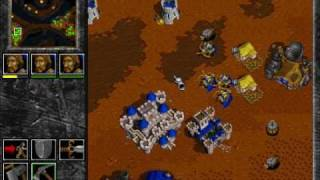 Warcraft 2: Tides of Darkness - Human Campaign Gameplay - Mission 14 (FINAL)