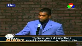 Video: Is the Quran the word of God or Man? - Shadid Lewis vs Tony Costa