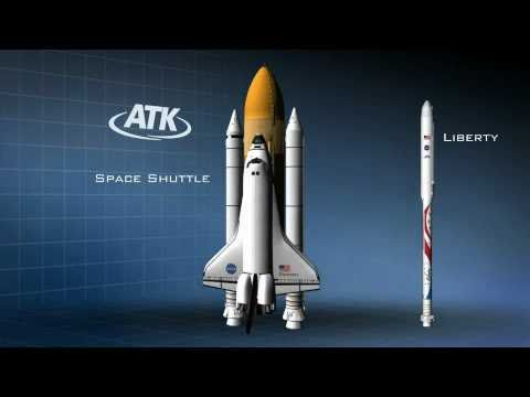Liberty Launch Vehicle - ATK and Astrium Combine Shuttle Solid Rocket Booster and Ariane 5