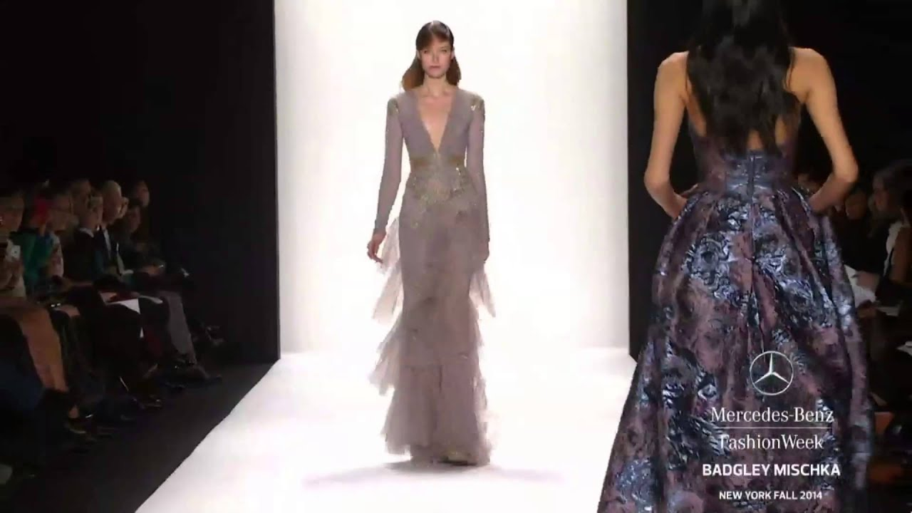 Badgley Mischka New York Fashion Week Fall Winter 2014 2015 By Fashion Channel Youtube