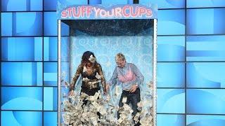 Ellen's Favorite Games: Stuff Your Cups with Halle Berry