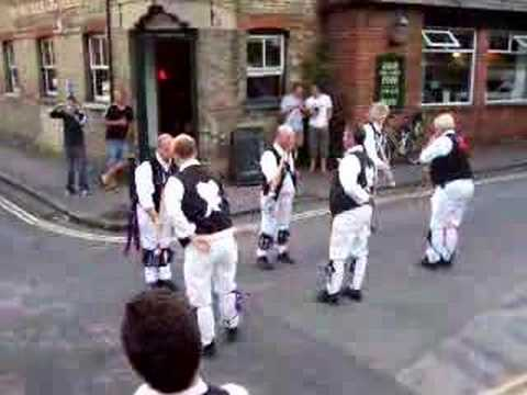 Morris Dancing in Oxford