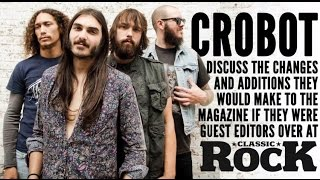 CROBOT - Classic Rock Guest Editors (OFFICIAL INTERVIEW)