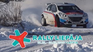 Peugeot rally academy treining (Rally Liepāja 2015)