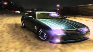 NFS Underground 2 Car mod Chrysler Crossfire SRT-6