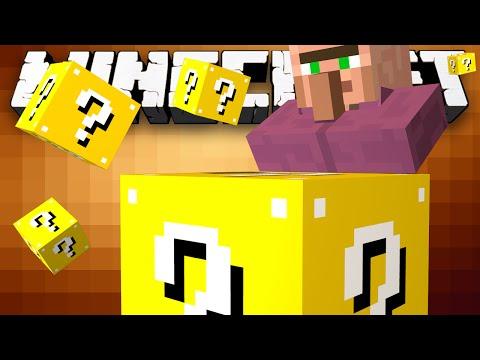 Minecraft: Lucky Block Defend The Village! - W preston & Kenny video
