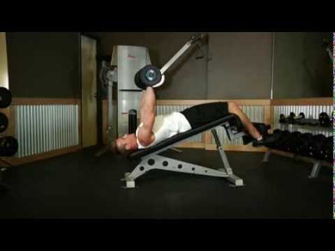 Decline Press Without Bench Decline Dumbbell Bench Press