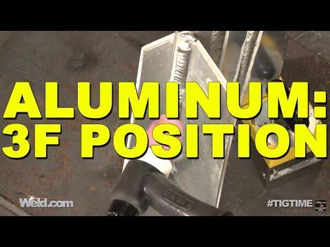 TIG Welding Aluminum Vertical Uphill