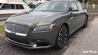 Quick Drive: 2017 Lincoln Continental Black Label