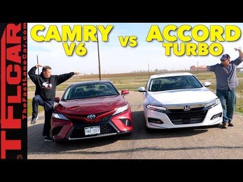 Best Seller Battle! 2018 Honda Accord vs Toyota Camry Expert Buyer's Guide
