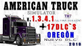 Descargar American Truck Simulator 1.29 + DLC New Mexico 2017