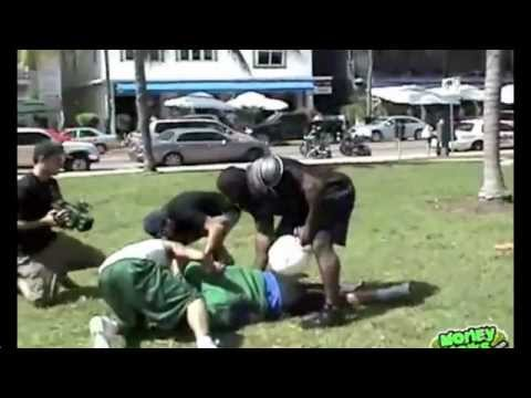 Kimbo Slice Football Tackle Image 1