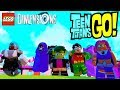 LEGO Dimensions Teen Titans Go Group Interaction With Robin Beast Boy Cyborg Starfire And Raven mp3