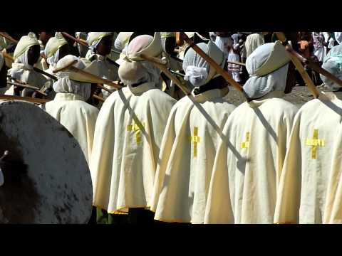 Meskel Festival in Axum - Ethiopia, Sep 27th, 2010