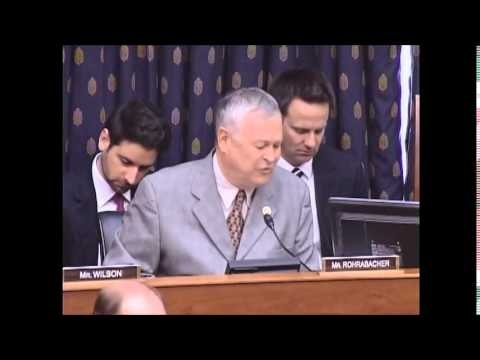 Subcommittee Chairman Rohrabacher Opening Statement on U.S.-Russia Nuclear Arms Negotiations