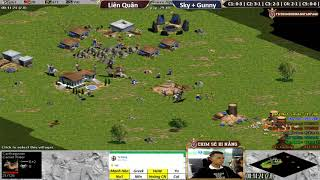 C4T4 | 4vs4 Random | Liên Quân vs Sky + Gunny | Ngày 10-10-2018
