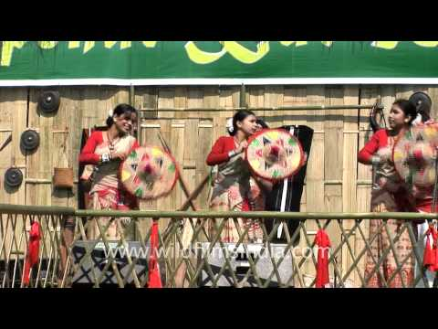 Assamese Dance Bihu video