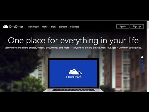 Microsoft OneDrive SkyDrive Windows Tutorial 2014