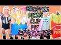 Brother Buys My Halloween Costumes Shopping Challenge 2017 mp3