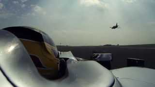 Lewis' flying lap with the RAF Red Arrows (teaser)