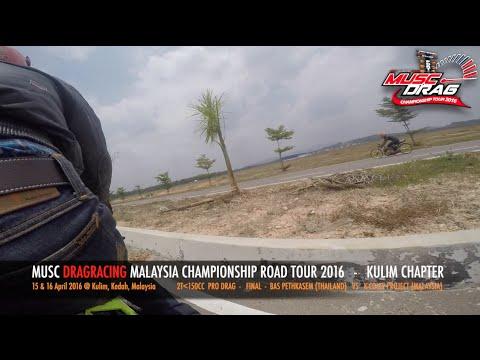 GoPro On Board 3 - Musc Drag Racing Kulim 2016