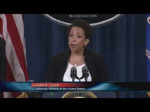 Attorney General Lynch Announces Five Major Banks Agree to Parent-Level Guilty Pleas